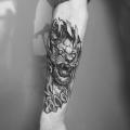 LION _ TATTOO BY MONSIEUR YOH