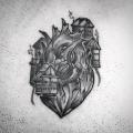 ANATOMIC HEART _ TATTOO BY MONSIEUR YOH