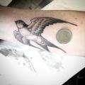 TINY BIRD  _ TATTOO BY MONSIEUR YOH