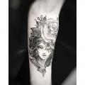 ROSE LADY _ TATTOO BY MONSIEUR YOH